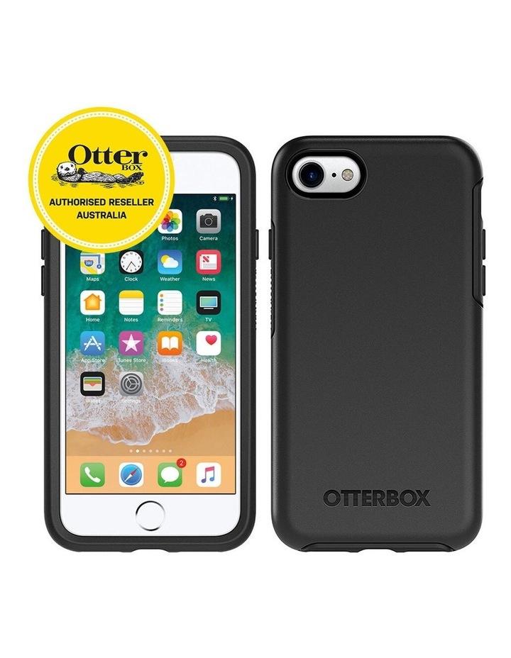 Matte Black Symmetry Slim/Sleek Protection Cover/Case for iPhone 7/8 image 2
