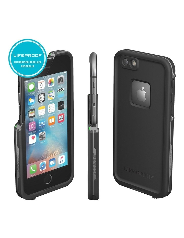 Black Lifeproof Fre Tough Case Cover Waterproof Shockproof for iPhone 6 /6s Plus image 2