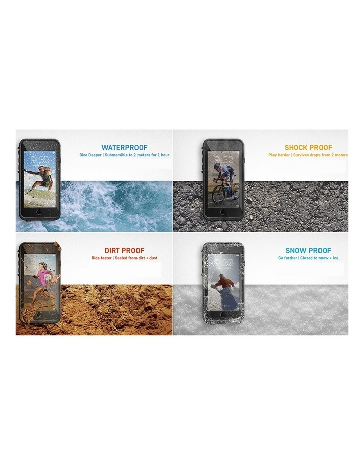 Black Lifeproof Fre Tough Case Cover Waterproof Shockproof for iPhone 6 /6s Plus image 3
