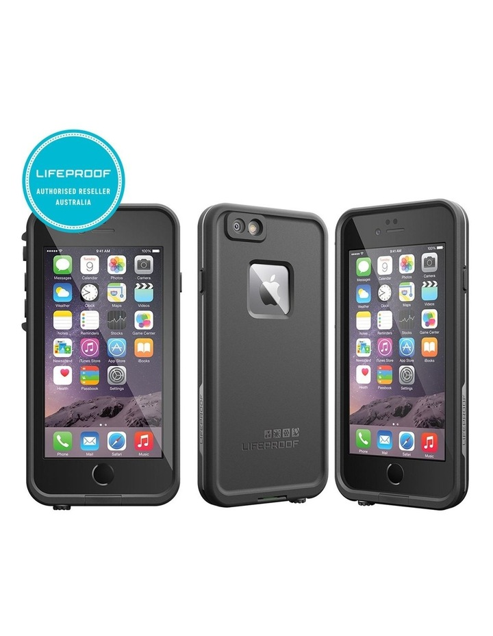 Black Lifeproof Fre Tough Case Cover Waterproof Shockproof for Apple iPhone 6/6s image 2