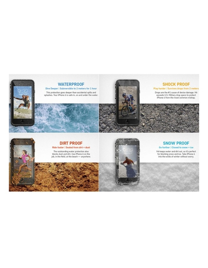 Black Lifeproof Fre Tough Case Cover Waterproof Shockproof for Apple iPhone 6/6s image 3