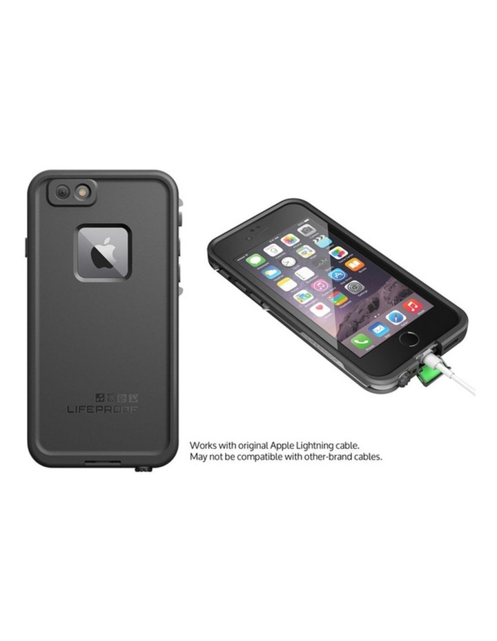 Black Lifeproof Fre Tough Case Cover Waterproof Shockproof for Apple iPhone 6/6s image 5