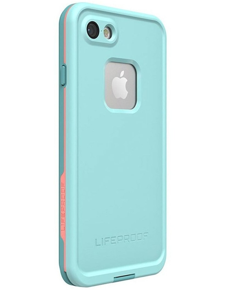 Fre Blue/Coral Case/Cover Waterproof Snow/Drop Proof for iPhone 7/8 image 1
