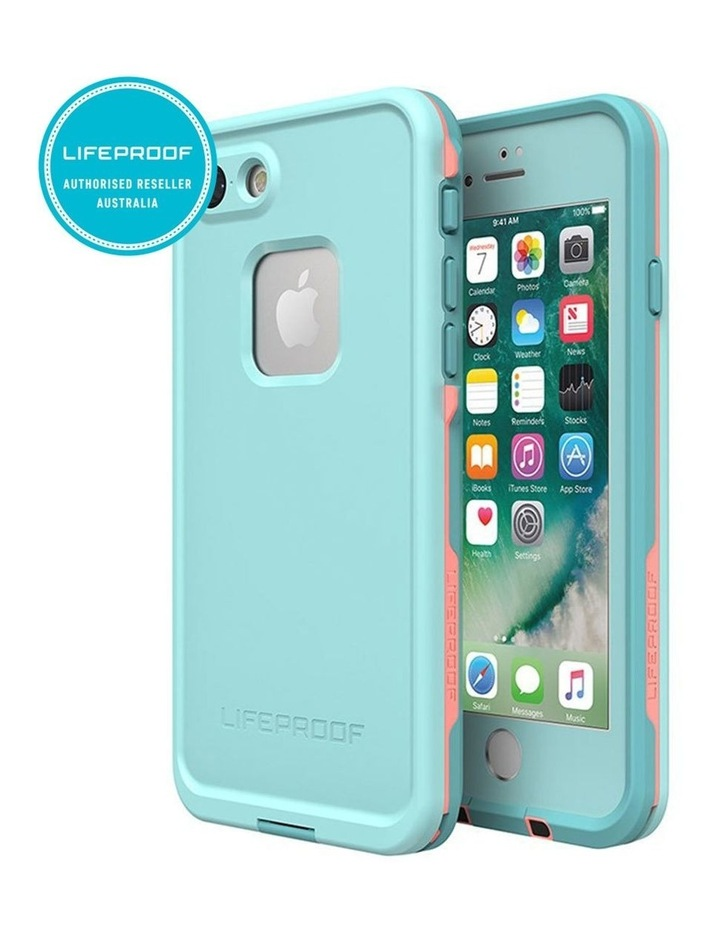 Fre Blue/Coral Case/Cover Waterproof Snow/Drop Proof for iPhone 7/8 image 2