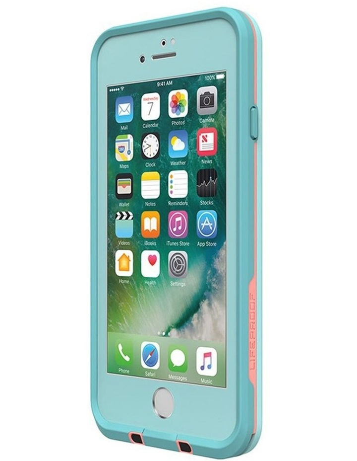 Fre Blue/Coral Case/Cover Waterproof Snow/Drop Proof for iPhone 7/8 image 3