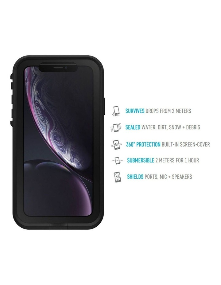 Fre Waterproof Case/Cover Protection for iPhone XR Asphalt Black/Grey image 3