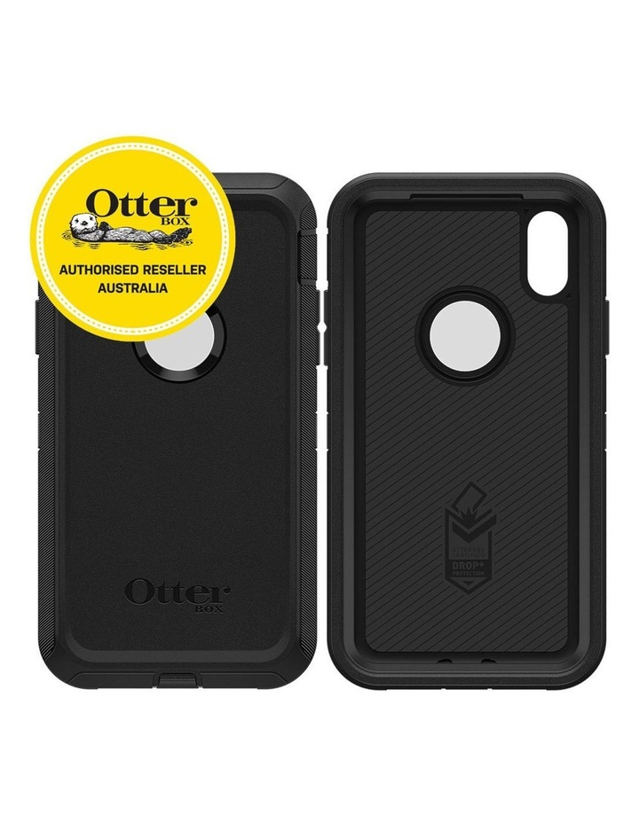 Defender Case/Cover Drop/Dust Proof Protective for Apple iPhone XR BLK image 2