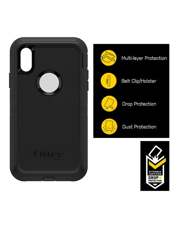 Defender Case/Cover Drop/Dust Proof Protective for Apple iPhone XR BLK image 3