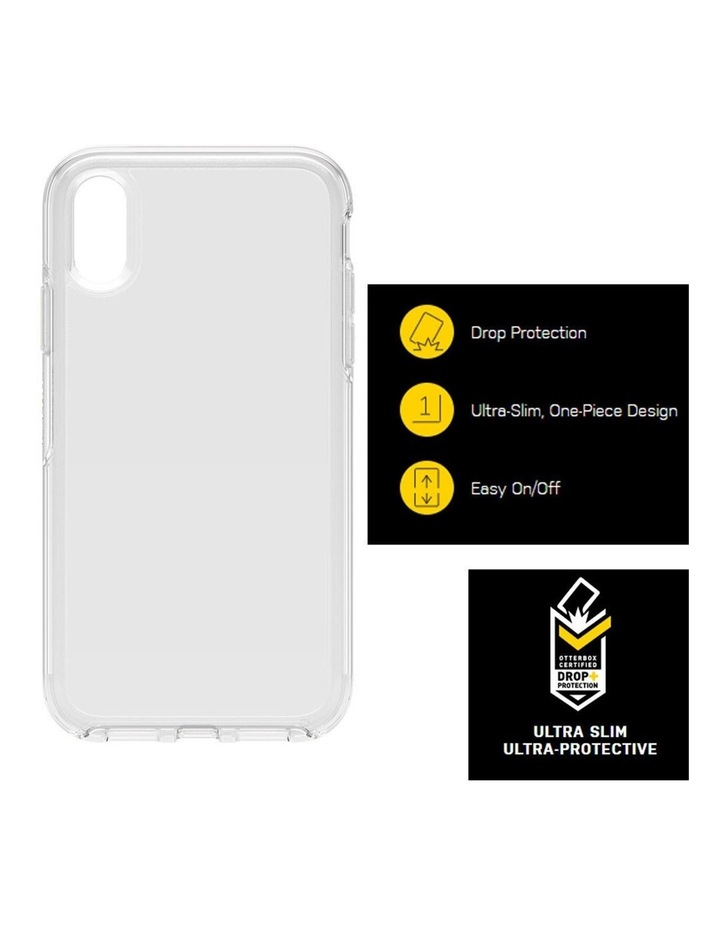 Symmetry Case/Cover Protector Drop Protection for Apple iPhone XR Clear image 3