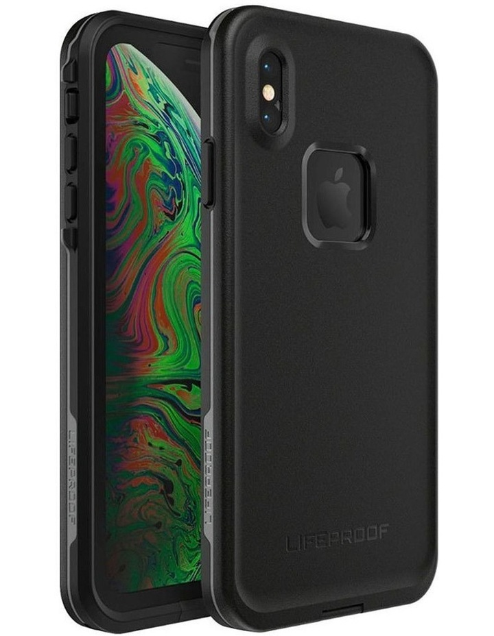Fre Case/Cover Drop Protection for Apple iPhone XS Max Asphalt Black image 5