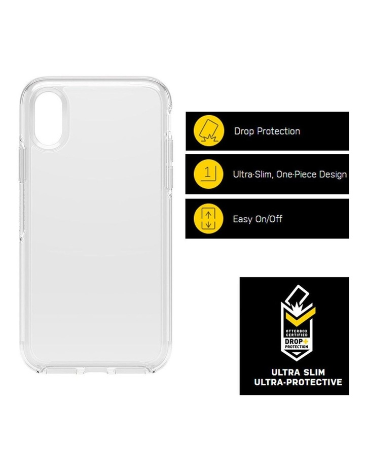 Symmetry Case Drop Sleek/Ultra Slim Protection for iPhone X/Xs Clear image 3