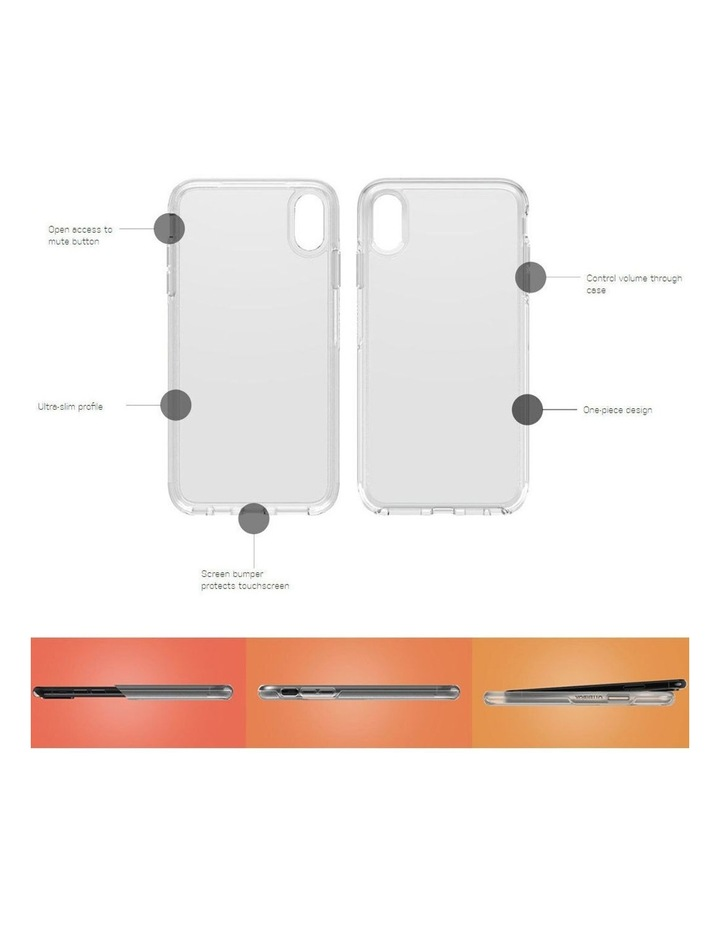 Symmetry Case Drop Sleek/Ultra Slim Protection for iPhone X/Xs Clear image 7