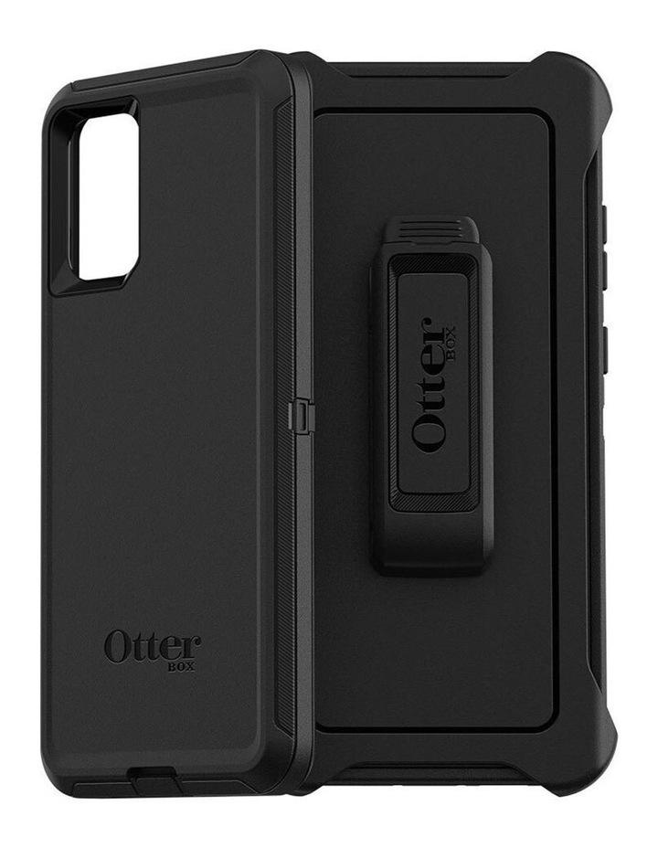 Defender Rugged Shockproof Case for Samsung Galaxy S20 Ultra Black image 1