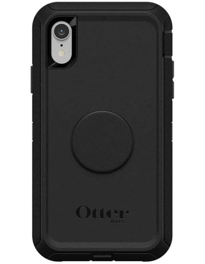 Otter Pop Defender Rugged Drop Proof Case w/Pop Grip for iPhone XR BLK image 4