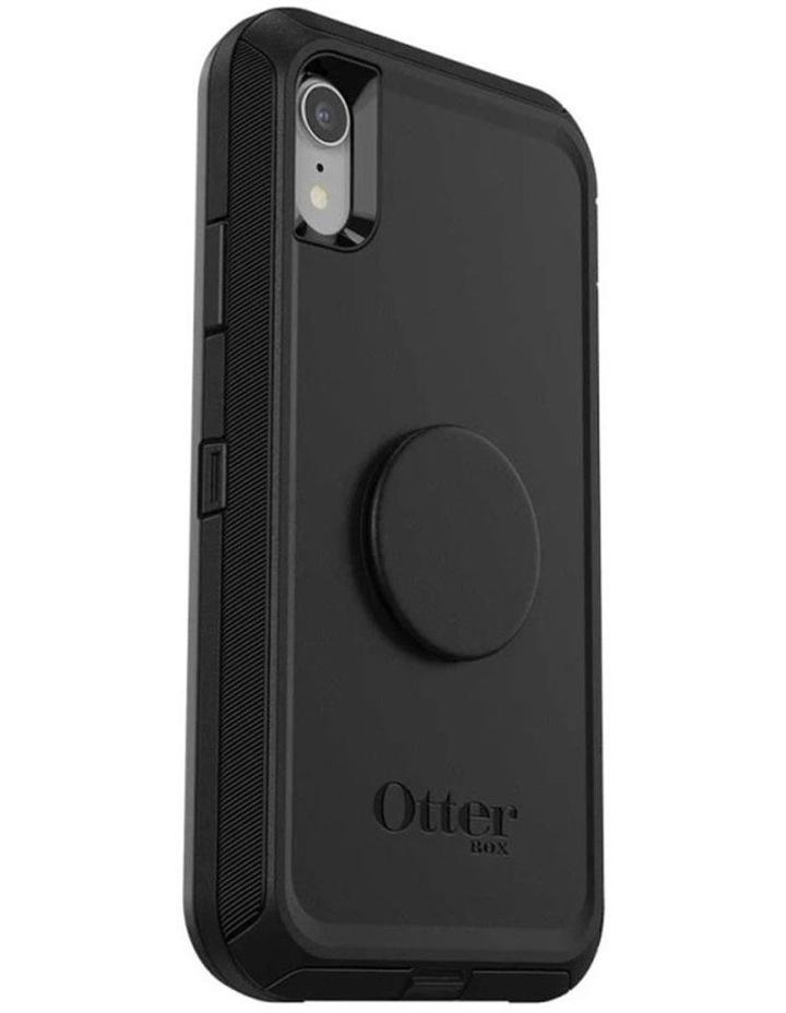 Otter Pop Defender Rugged Drop Proof Case w/Pop Grip for iPhone XR BLK image 7