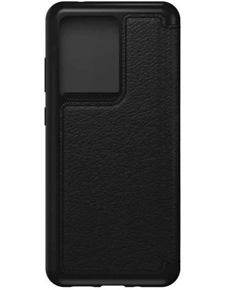 Strada Leather Case Cover Protect for Samsung Galaxy S20 Ultra Black image 5