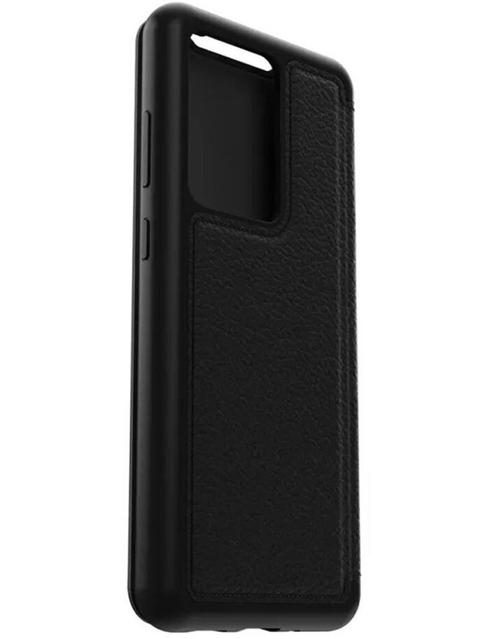 Strada Leather Case Cover Protect for Samsung Galaxy S20 Ultra Black image 6