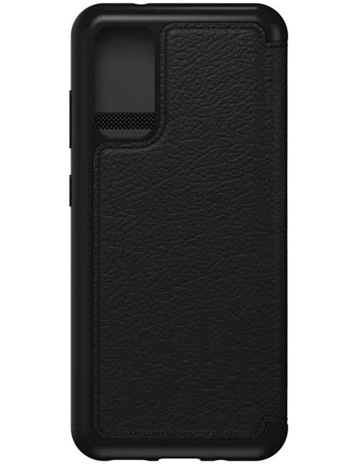 Strada Wallet Case Cover Leather Protection for Samsung Galaxy S20 BLK image 5