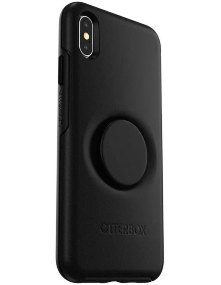 Otter Pop Symmetry Drop Proof Case w/Pop Grip for iPhone Xs Max Black image 1