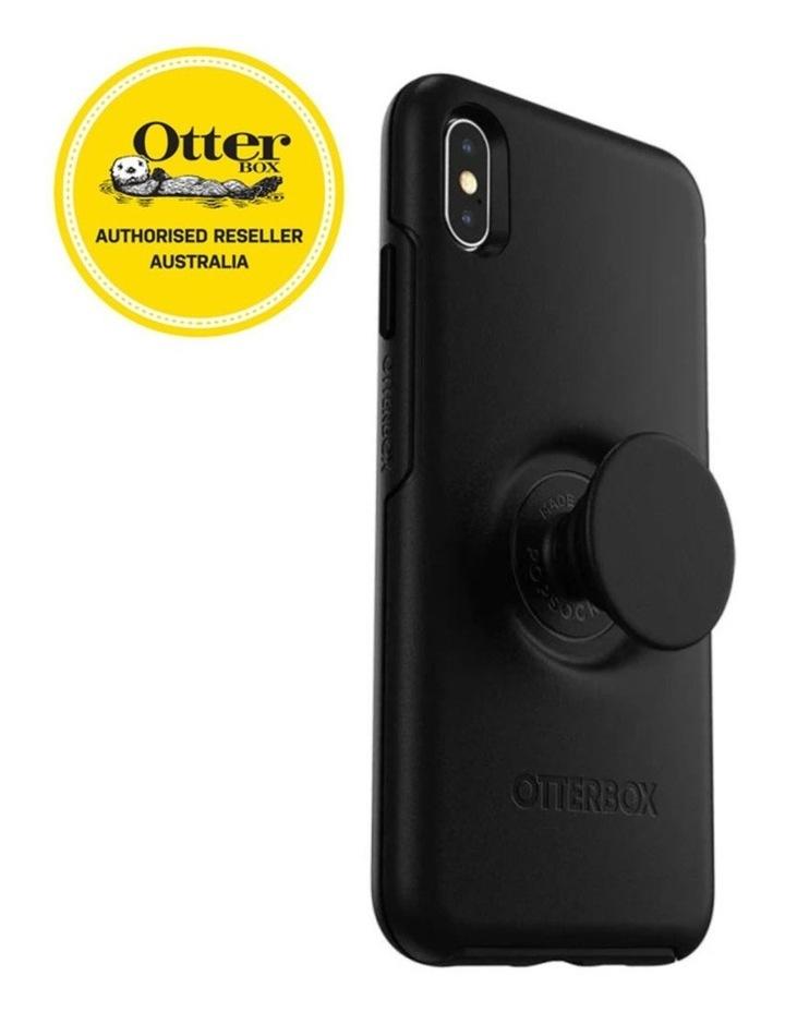 Otter Pop Symmetry Drop Proof Case w/Pop Grip for iPhone Xs Max Black image 3