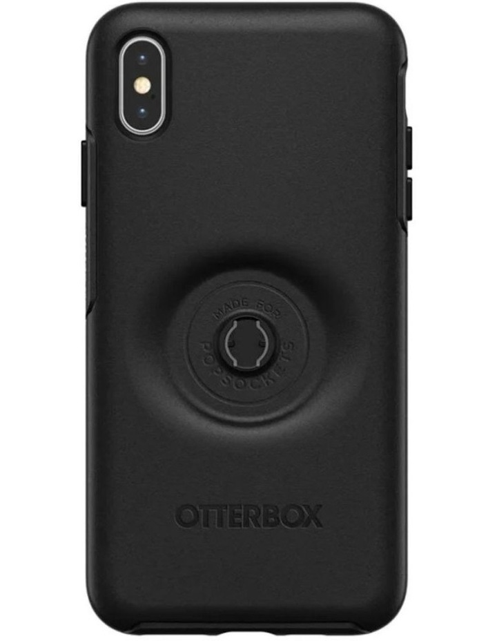Otter Pop Symmetry Drop Proof Case w/Pop Grip for iPhone Xs Max Black image 6