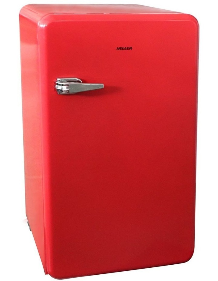 90L Retro Red Bar Fridge image 1