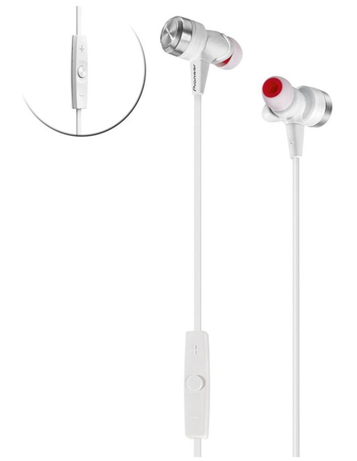 Superior Club Sound Earphone - White image 1