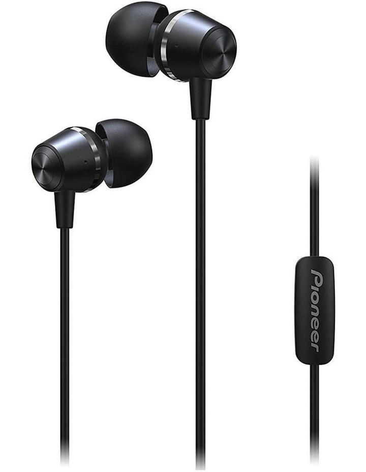SE-QL2T-B  Earphones w/ Mic - Black image 1