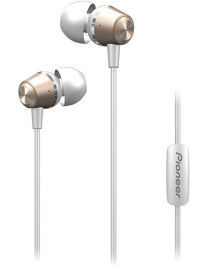 SE-QL2T-G  Earphones w/ Mic - Gold image 1