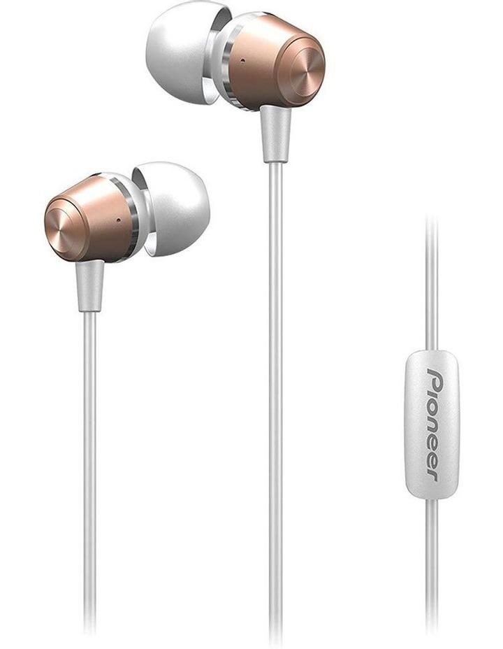 SE-QL2T-P  Earphones w/ Mic - Pink Gold image 1