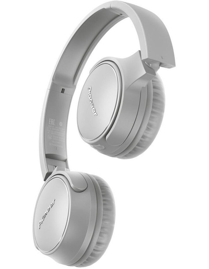 S3 Wireless On Ear Headphone w/ Mic - Grey image 2
