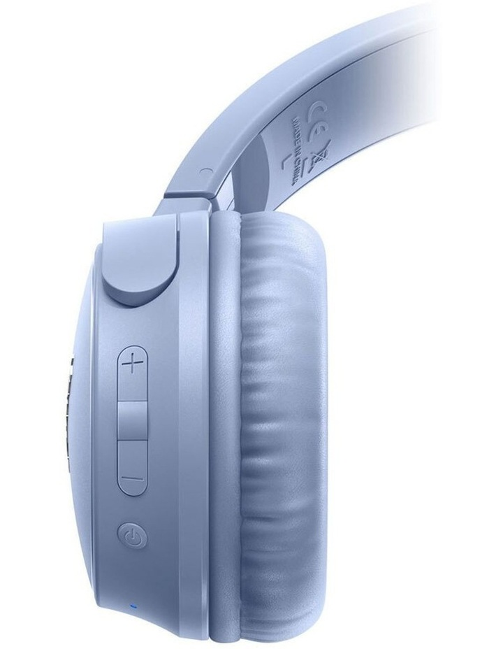 S3 Wireless On Ear Headphone w/ Mic - Blue image 3