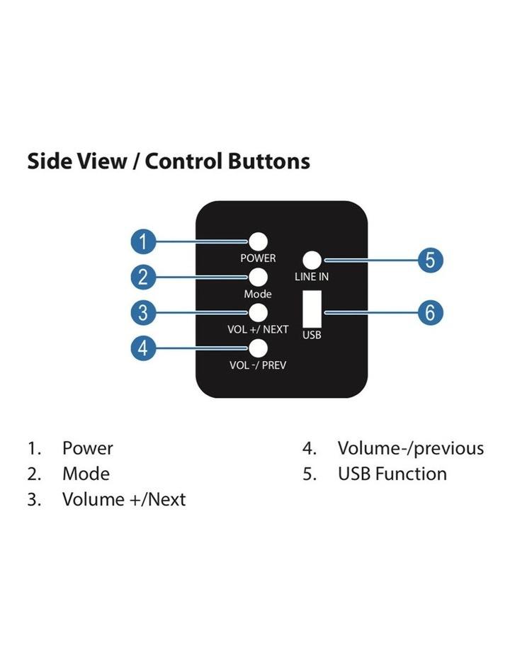 SBW-175 Bluetooth Sound-bar w/ Wireless Subwoofer image 5