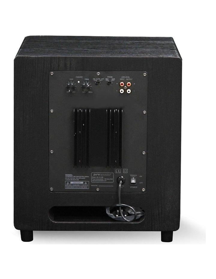"SUB 10"" 150W Active Subwoofer Speaker SN-10 image 3"