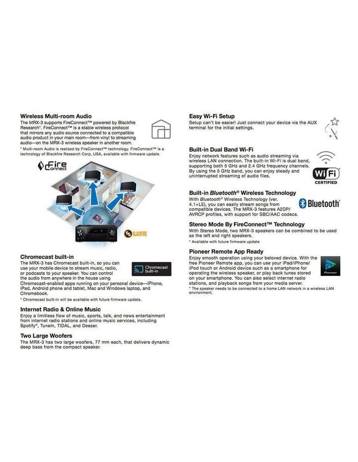 Wireless Multi-Room Speaker - White image 6