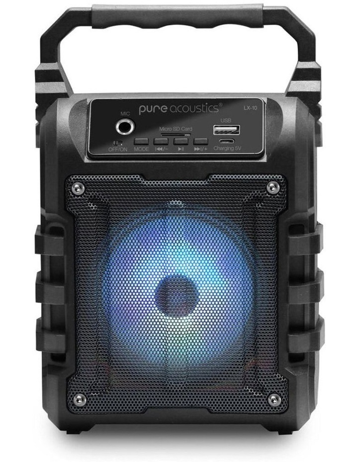 LX-10 Portable Wireless Bluetooth Speaker With FM Radio image 1