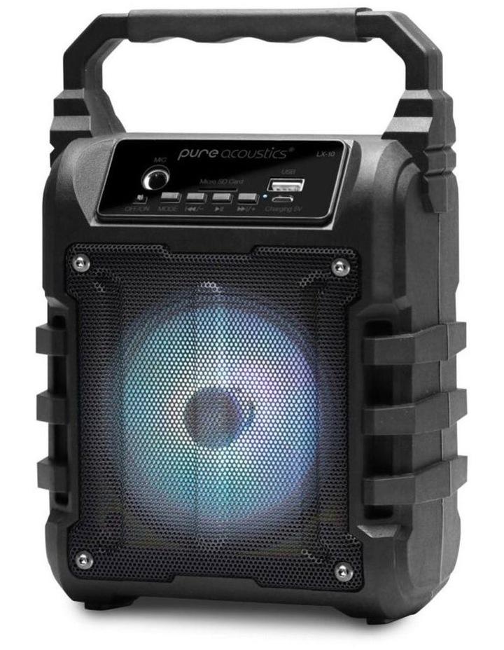 LX-10 Portable Wireless Bluetooth Speaker With FM Radio image 2