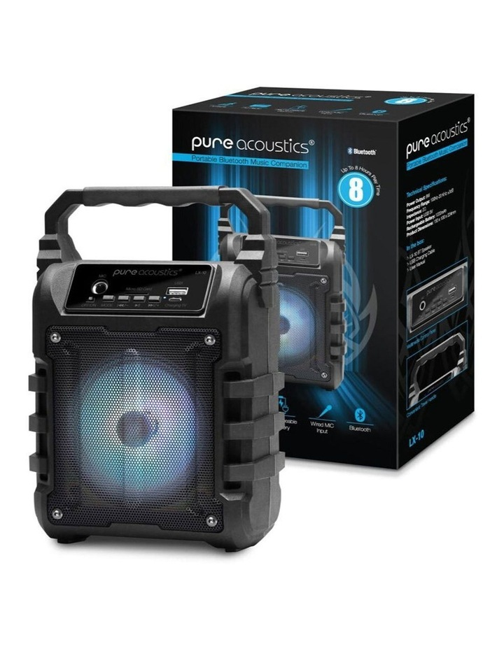 LX-10 Portable Wireless Bluetooth Speaker With FM Radio image 3