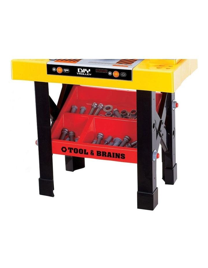 Kids/Children Diy Workbench Tools Pretend Role Play Toy Set/Saw Drill Hammer Nut image 3