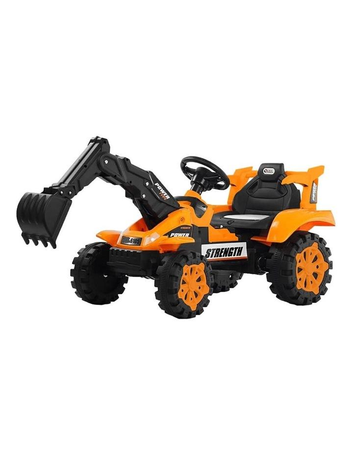 Ride On Excavator - Orange image 1