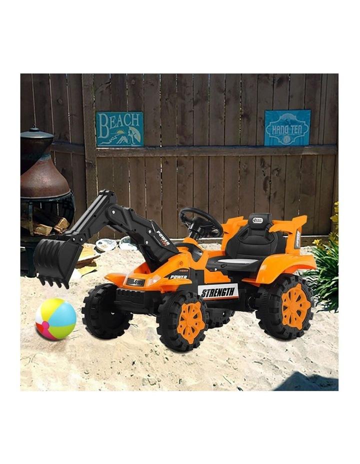 Ride On Excavator - Orange image 2