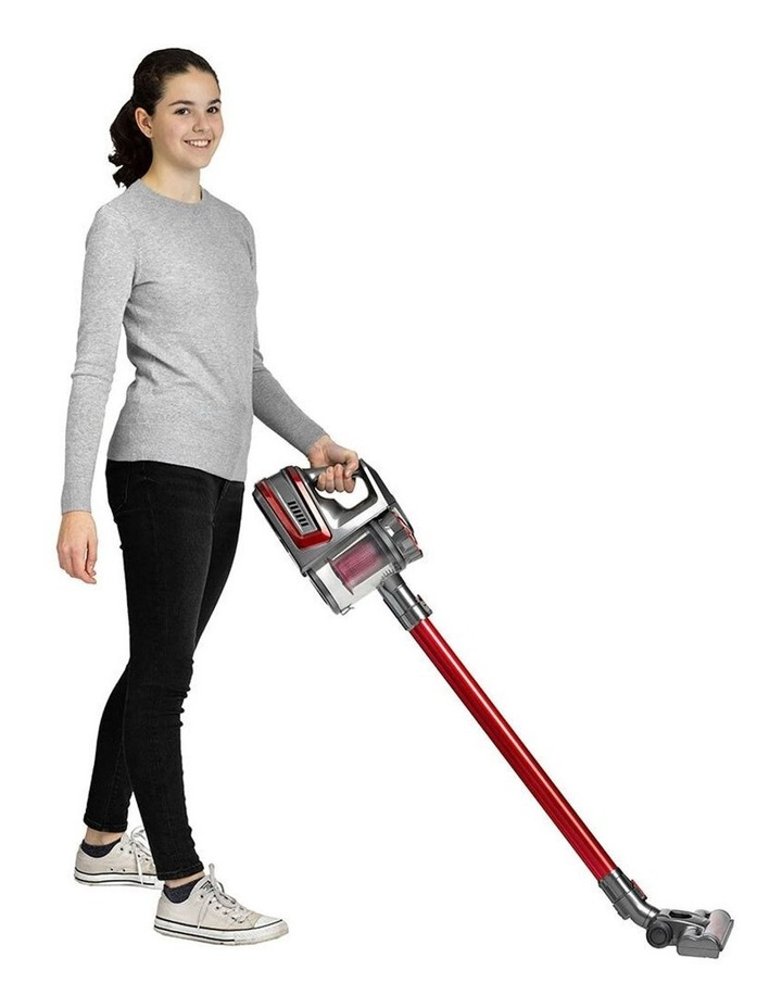 Powerful Rechargeable Cordless Vacuum Cleaner Red image 1