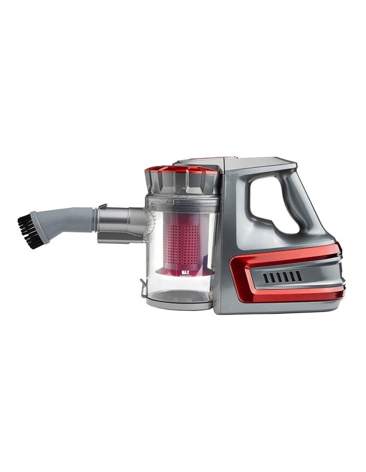 Powerful Rechargeable Cordless Vacuum Cleaner Red image 2