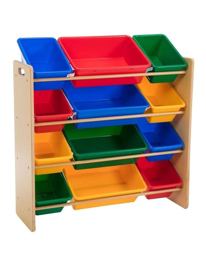 Toy Organiser - 12 Bin Shelf Storage image 1