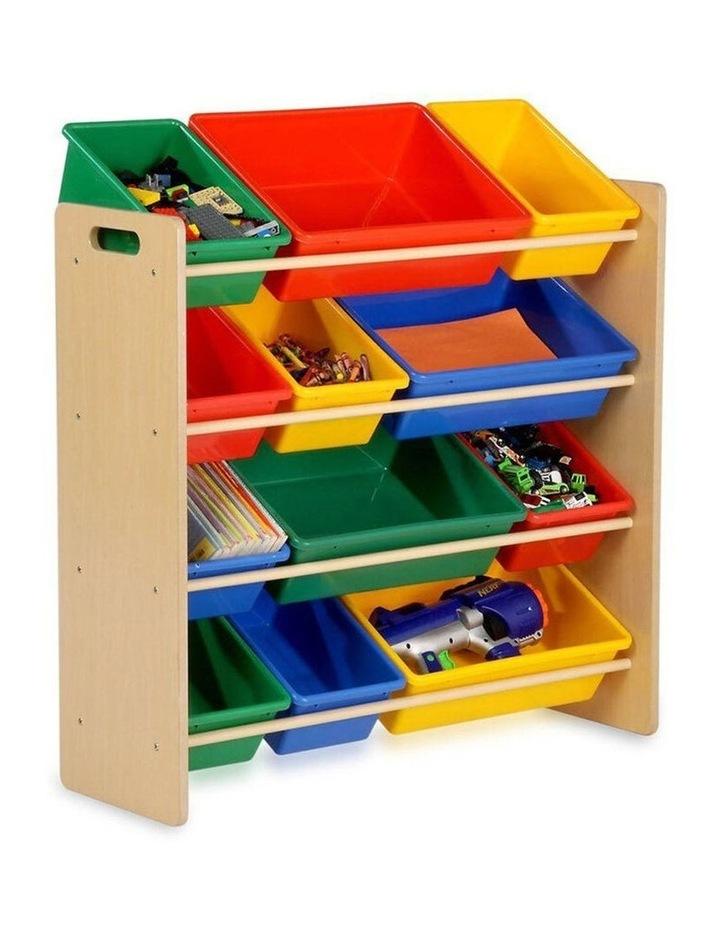 Toy Organiser - 12 Bin Shelf Storage image 2