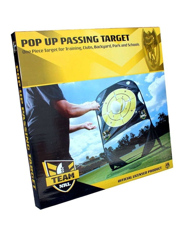 Rugby Official NRL Passing Practice Target image 1