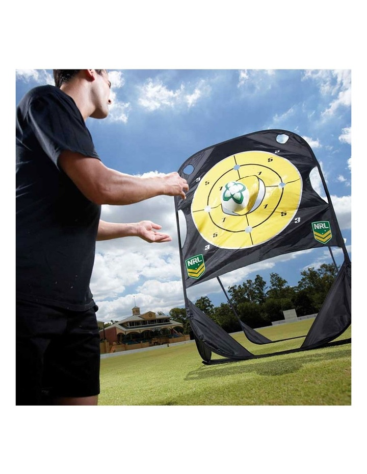 Rugby Official NRL Passing Practice Target image 2