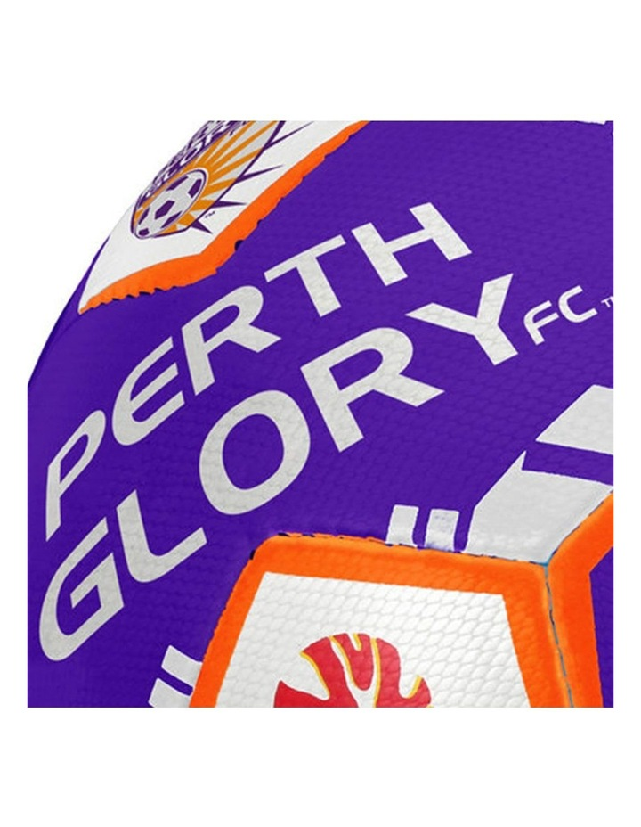 Size 5 A-League Perth Glory Soccerball image 2