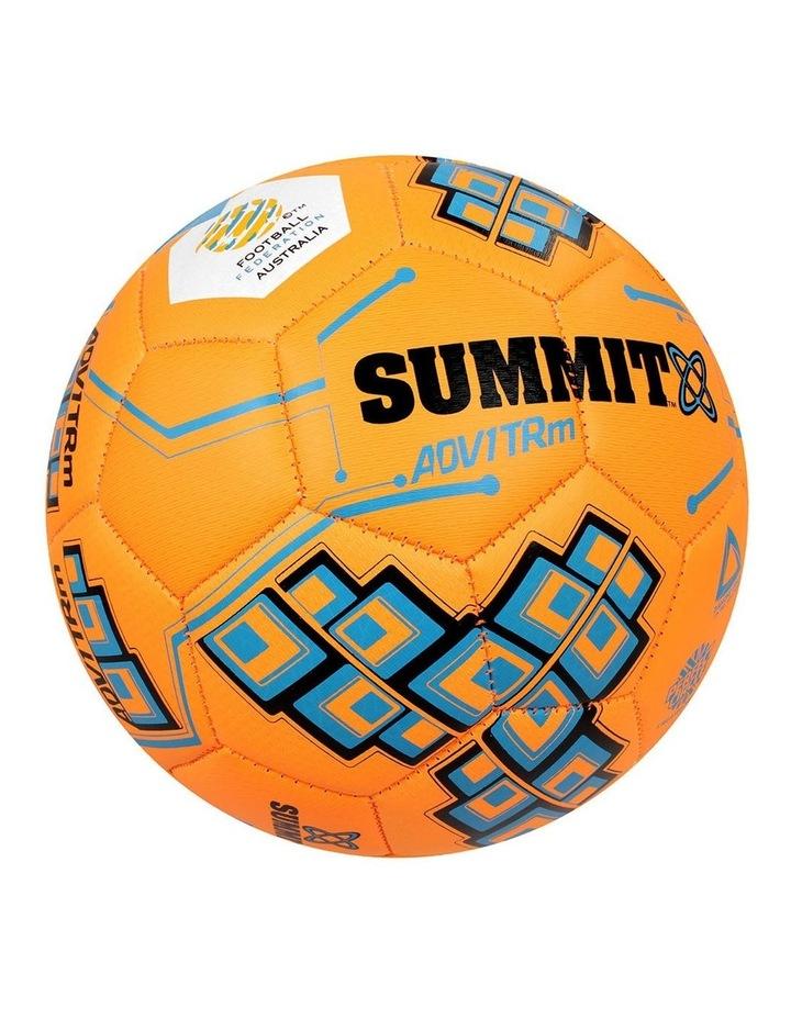 ADV1 Size 4 Trainer Soccer Ball Orange image 1