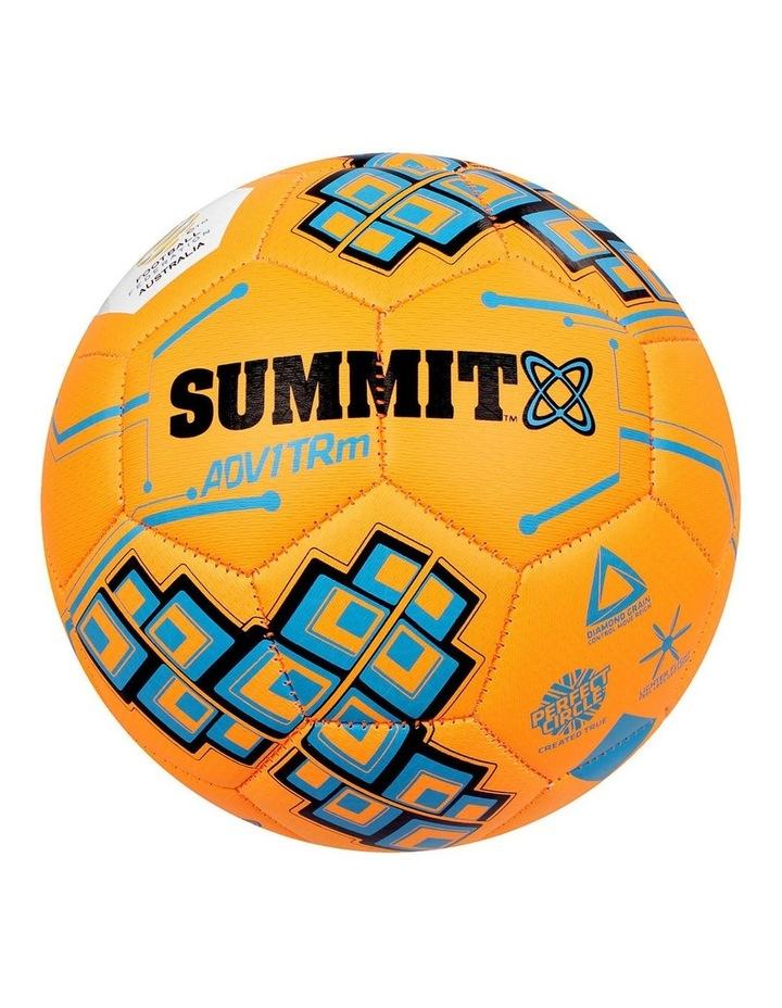 ADV1 Size 4 Trainer Soccer Ball Orange image 2